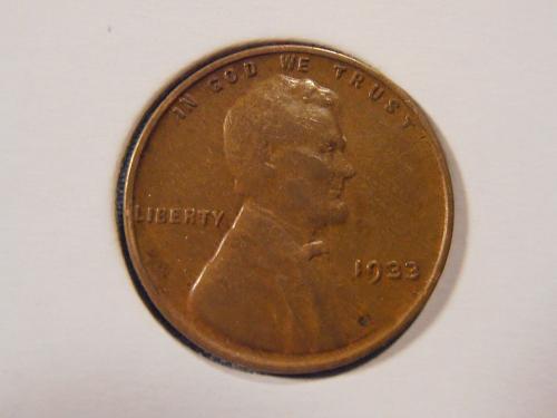 1933 P Lincoln Cent, (33PC2)