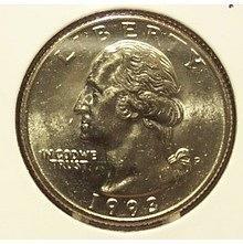 1993-P Washington Quarter BU #01024