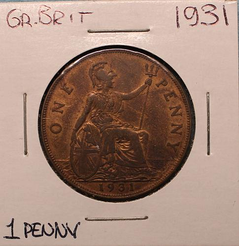 Great Britain 1931 1 penny