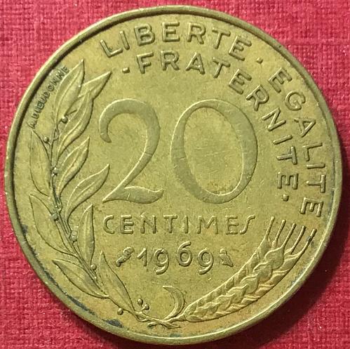 France 1969 - 20 Centimes
