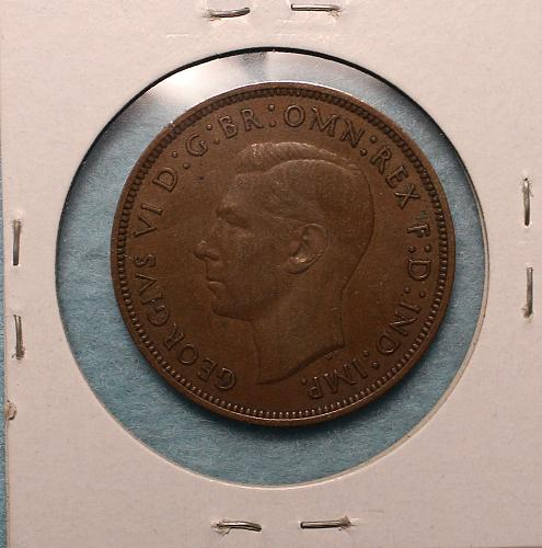 Great Britain 1940 1 penny