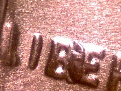 "1954-S Lincoln Cent ""BIE"" ERROR -GEM BU RED"