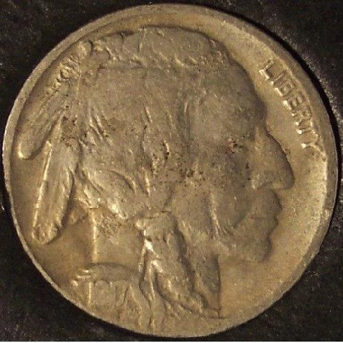 1917-D Buffalo Nickel VF #01077