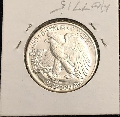 Silver Walking Liberty Half 1944 P...MS64