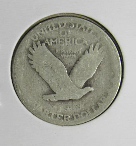 1925P Standing Liberty Silver Quarter