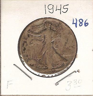 Nice 1945 Walking Liberty Half