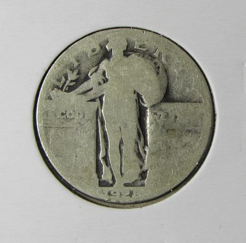 1928P Standing Liberty Silver Quarter