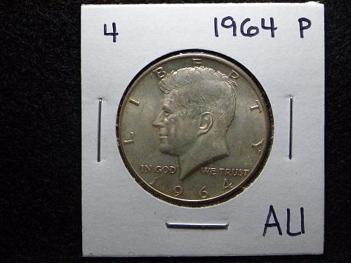 1964 P Kennedy Half Dollar