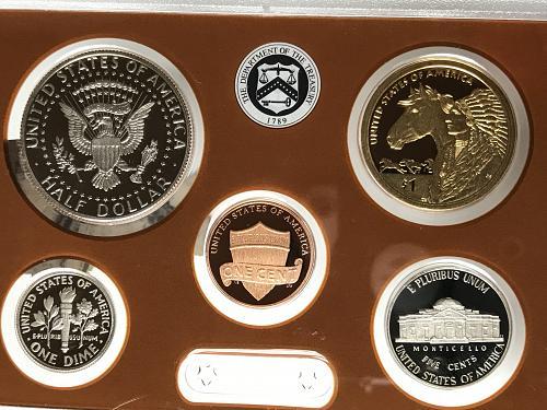 2012 S US Mint Proof Set W/box and COA (822-7)