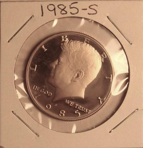 1985-S Kennedy Half Dollar Proof