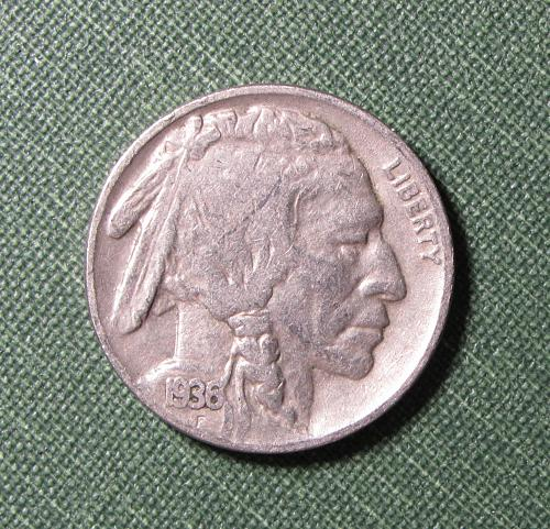 1936P Buffalo Nickel