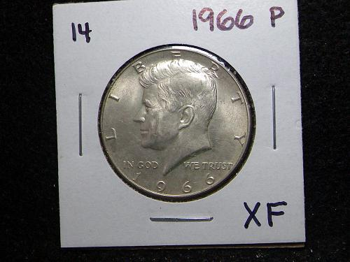 1966 P Kennedy Half Dollar