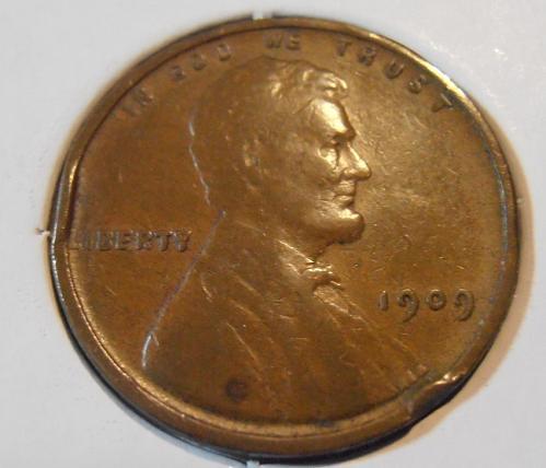 1909 P VDB Lincoln Cent (09PUL1)