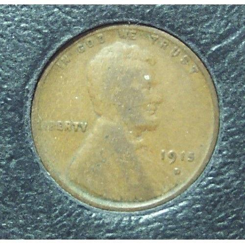 1915-D Lincoln Wheat Back Penny G4 #01174