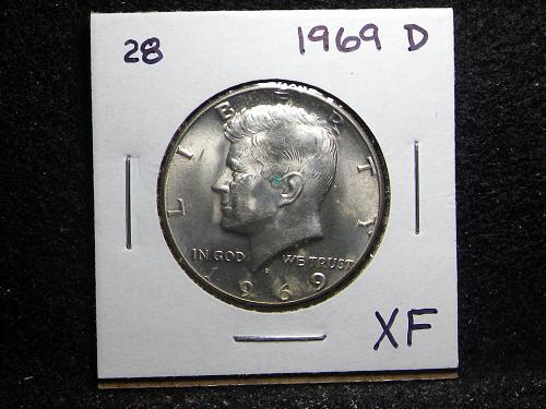 1969 D Kennedy Half Dollar