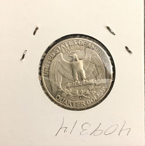 1932-S Washington Quarter  Silver  XF