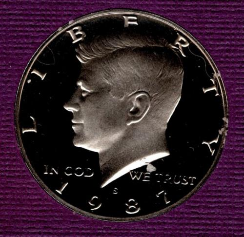 1987 S Kennedy Half Dollars - #3