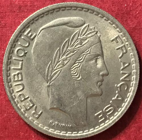 France 1949 B - 10 Francs [#2]