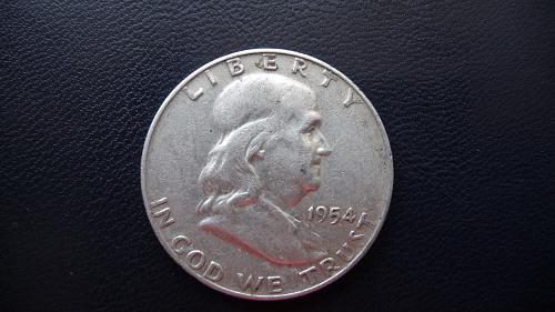 1954-D Franklin Half Dollar