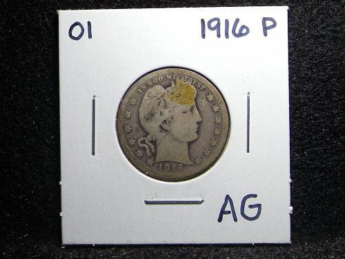 1916 P Barber Quarter