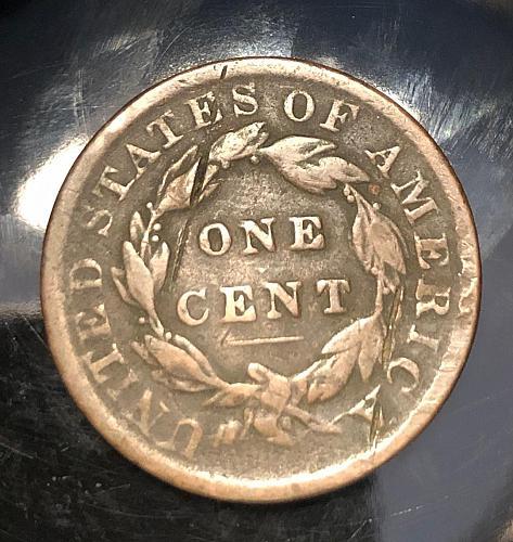 1833 Coronet Liberty Head Large Cent