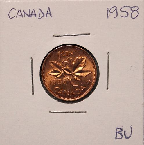 Canada 1958 1 cent
