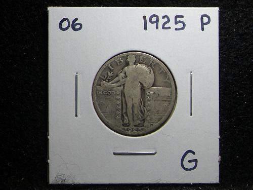 1925 P Standing Liberty Quarter