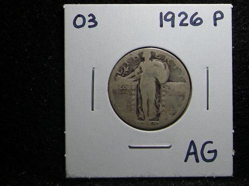 1926 P Standing Liberty Quarter
