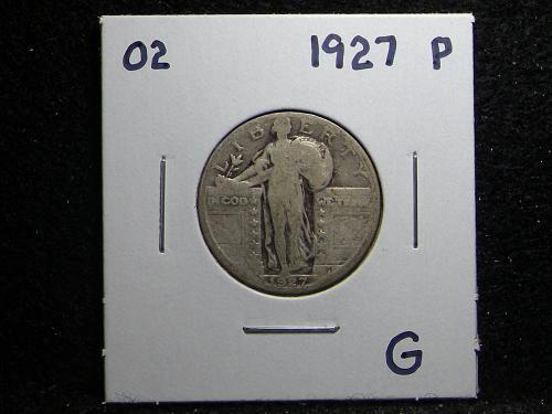 1927 P Standing Liberty Quarter