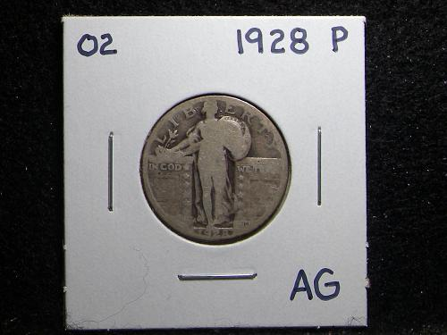 1928 P Standing Liberty Quarter