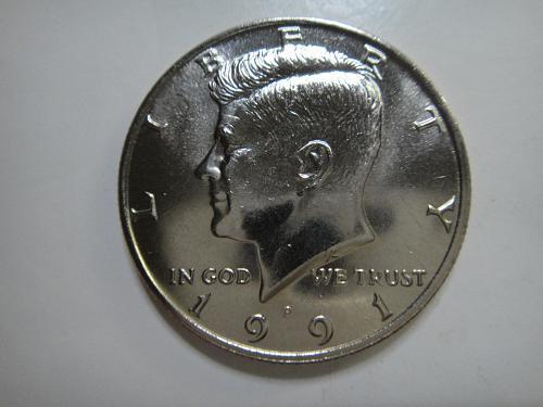 1991-P Kennedy Half Dollar MS-65 (GEM)
