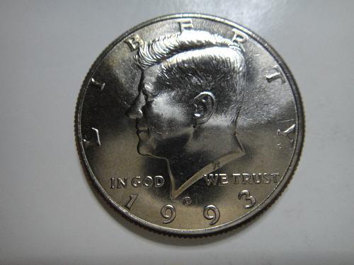 1993-D Kennedy Half Dollar MS-65 (GEM)