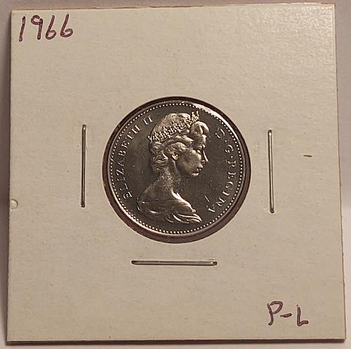 1966 Canada 5 Cents