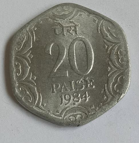 India Circulated coin 1984*