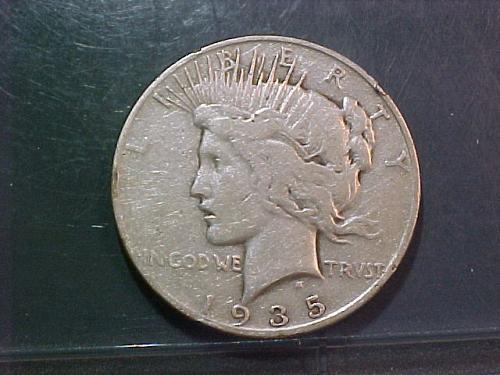 1935 S PEACE DOLLAR      aa54