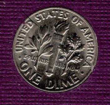 1971 D Roosevelt Dimes -#3