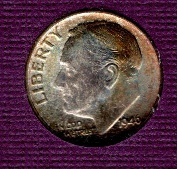 1946s BU Roosevelt Dime -#3
