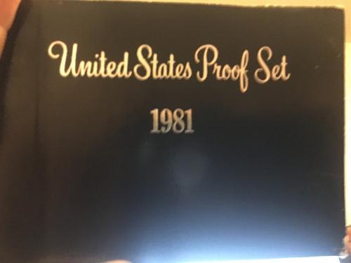 1981 S United States Proof Set Type 2