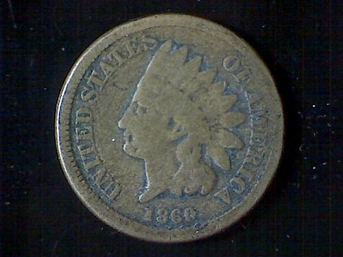 1860 Indian Cent