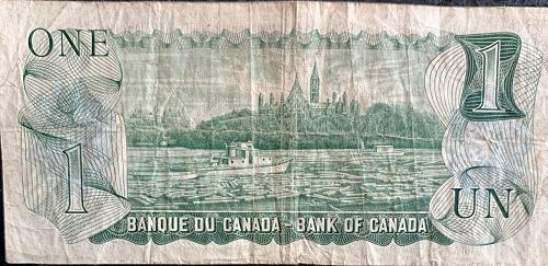 1973 $1 Bank of Canada Note AV 5889422