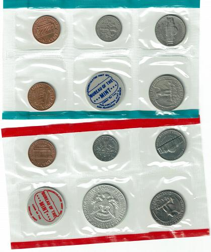 1970 mint set from private collection