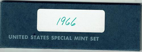 1966 special mint 5 coin set