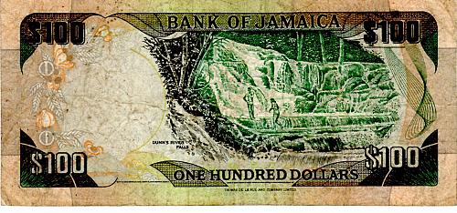 FEBRUARY 15, 1999 JAMAICA ONE HUNDRED DOLLAR BANKNOTE