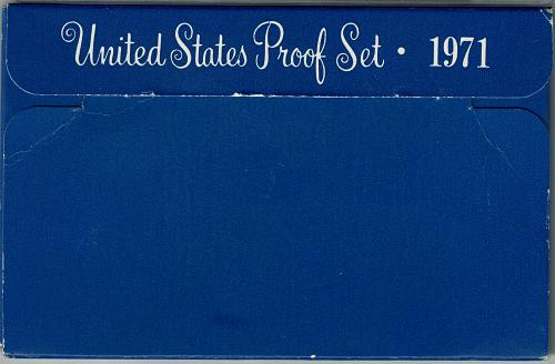 1971 S proof set, 5 coin set