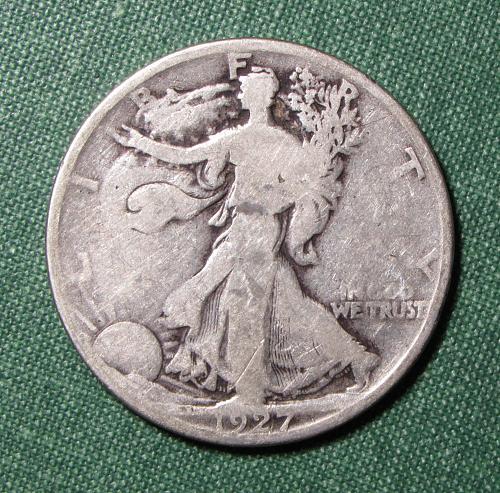 1927S Walking Liberty Half Dollar