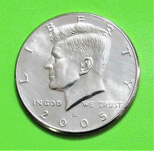 2005-D 50 Cents - Kennedy Half Dollar - Uncirculated
