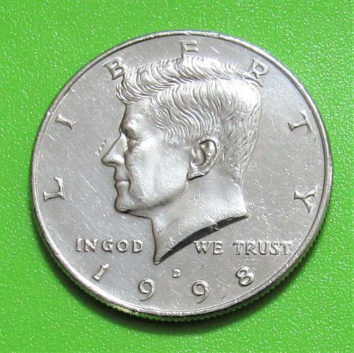 1998-D 50 Cents - Kennedy Half Dollar