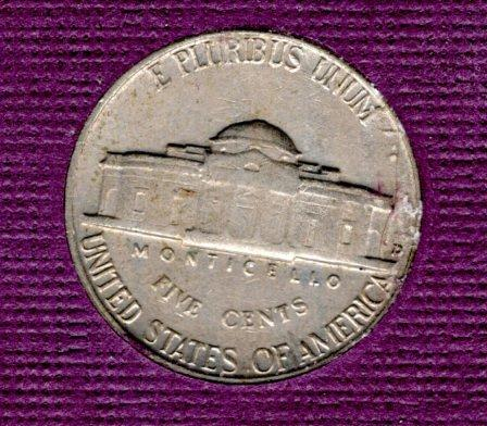 1959d Jefferson Nickel #3