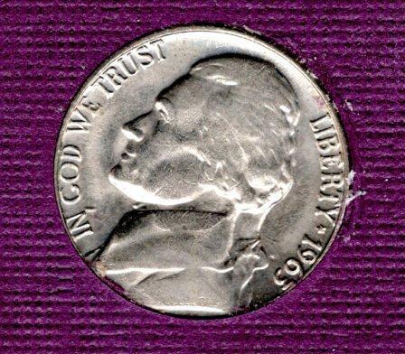 1963 D Jefferson Nickels -#3