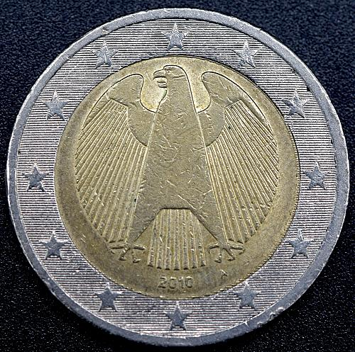 2010-A    2 euro German coinage